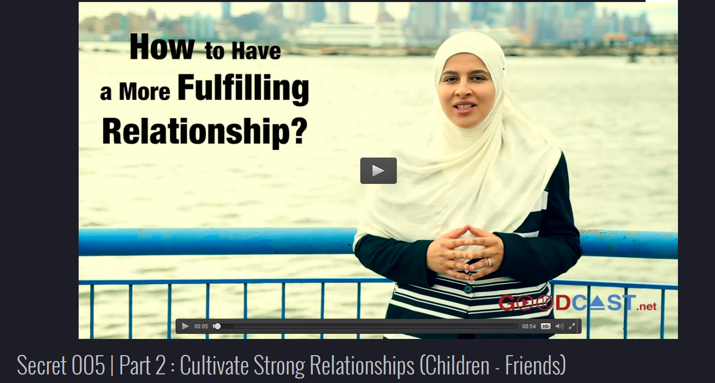 Secret 5 | Part 2 : Cultivate Strong Relationships (Children - Friends)